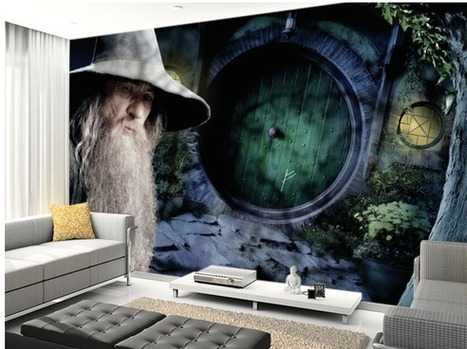 Middle-earth News – The Hobbit Murals: Coming to a Wall Near You! | 'The Hobbit' Film | Scoop.it