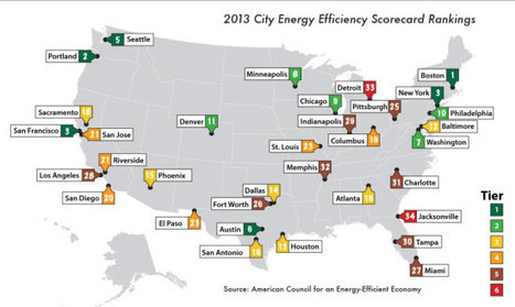 US energy-efficiency rankings: Where does your city stand? - Smart Grid News | smart cities | Scoop.it