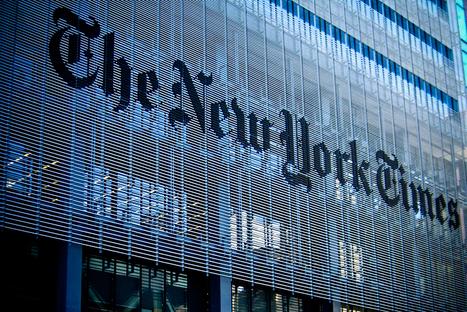 Le New York Times sauvé par internet   Industry   Scoop.it
