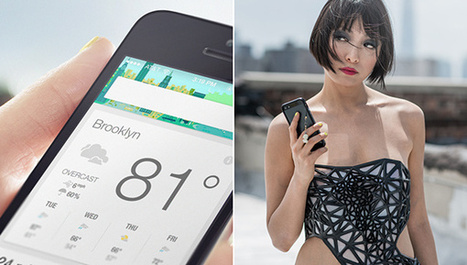 3D-Printed Dress Exposes Your Skin As You Share Online Data | I Love Celebrity Styles Fashion News. Fashion Designers Models Trendsetters Daily Notes Agenda Guide Style Trends Magazine Calendar Planner News Fashion days and deals Celebrity styles | Scoop.it