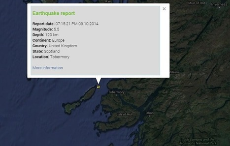 Tobermory (Scotland) hit by 5.5. earthquake | News You Can Use - NO PINKSLIME | Scoop.it