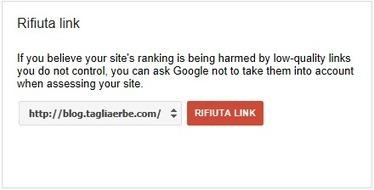 Google Disavow Links Tool: rifiuta i link che non vuoi! | Social Media: notizie e curiosità dal web | Scoop.it
