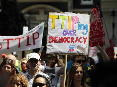 Protesters fear trade deal with US will 'carve open' health service | Welfare, Disability, Politics and People's Right's | Scoop.it