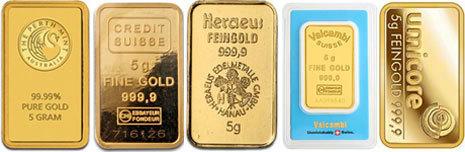 Le lingot d'or de 5 Grammes. | Les lingots en or! | Scoop.it