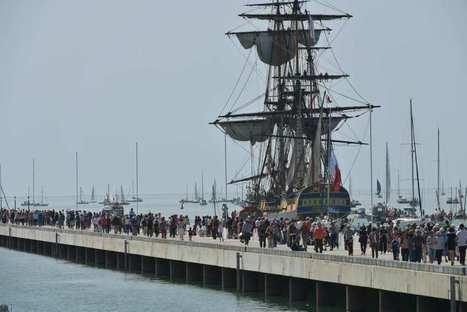 «L'Hermione» prête à mettre le cap sur les côtes américaines | Voyages et Gastronomie depuis la Bretagne vers d'autres terroirs | Scoop.it