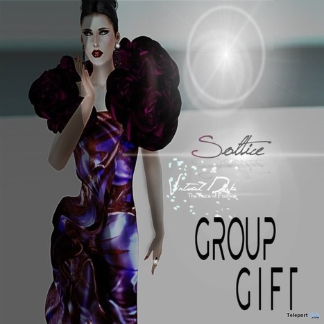 Soltice Dress Group Gift By Virtual Diva | Teleport Hub - Second Life Freebies | Second Life Freebies | Scoop.it
