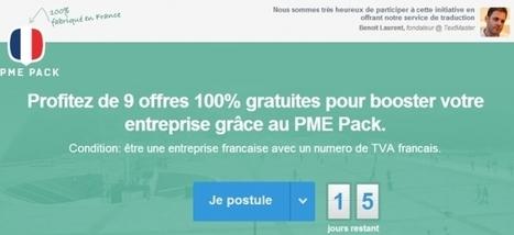 """[Outils] 9 startups françaises créent le """"PME Pack"""", le Startup Pack à la française - Maddyness   Job search, coaching & Management   Scoop.it"""
