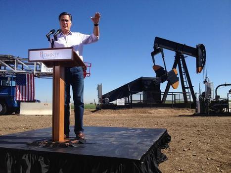 Mitt Romney et l'effarante fuite en avant de 'Big Oil' | Développement durable et efficacité énergétique | Scoop.it