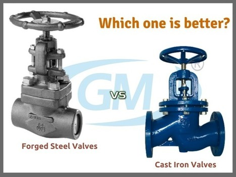 Forged steel valves vs. cast iron valves – Which one is better?   Valve manufacturers and exporters in India   Scoop.it