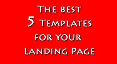 5 performanti Templates per la tua Landing Page | Curation, Copywriting and  ... surroundings | Scoop.it