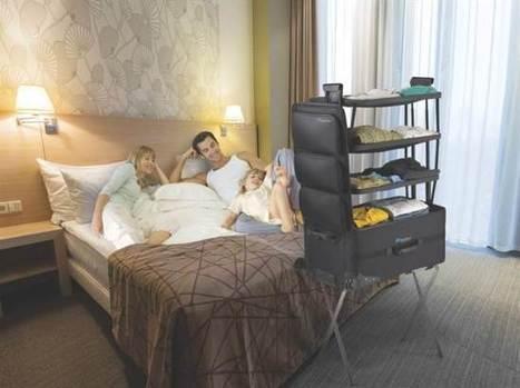 Resväskor med hyllor – snillrik design gör packningen busenkel | Allt om resor ... - Expressen | Hemsidan för småföretagare | Scoop.it