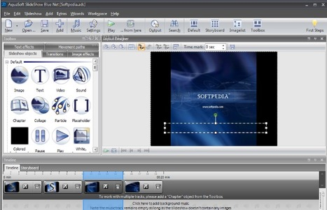 AquaSoft SlideShow Blue Net - Slideshows with zoom effect, camera pan, music, video | Digital Presentations in Education | Scoop.it