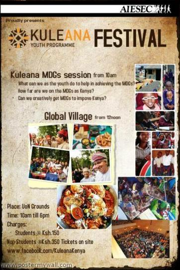 UoN to host AIESEC's Kuleana Cultural Festival | Capital Campus | Kenya School Report - 21st Century Learning and Teaching | Scoop.it