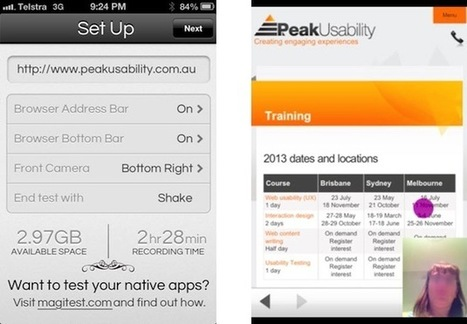 Eight Lessons in Mobile Usability Testing | UX Magazine | Mobile user testing | Scoop.it