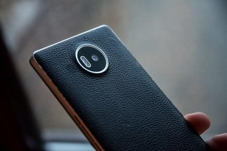 Test – Une coque en cuir, NFC et Qi signée Mozo pour le Lumia 950 XL | geeko | NFC marché, perspectives, usages, technique | Scoop.it