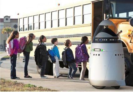 Actualité > K5, le robot-vigile qui voit, entend et sent les odeurs | Technologie et Sécurite : Equipe 04 | Scoop.it