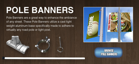 Sign Standoffs   Cable Displays   Pole Banners - Sign-Mounts.com   Sign Mounts   Scoop.it