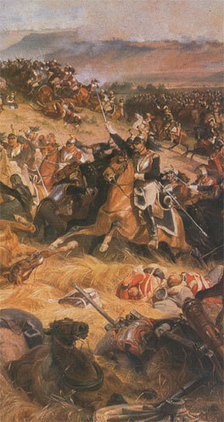 18 juin 1815 - Crépuscule à Waterloo | Racines de l'Art | Scoop.it