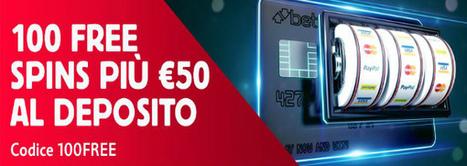 100 GIRI GRATUITI PIÙ 50€ SUL DEPOSITO: CODICE 100FREE | Online Slots | Scoop.it