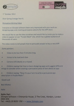 iPads in Primary Education: Using the App Store for Persuasive Writing | iPad Resources | Scoop.it