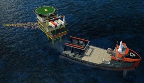 Damen Unveils Platform Decommissioning Concept - gCaptain | Aquaculture Directory | Scoop.it