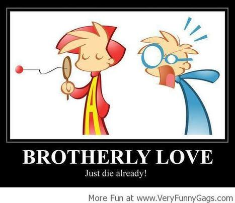 Brotherly Love!   Funnygags   Scoop.it
