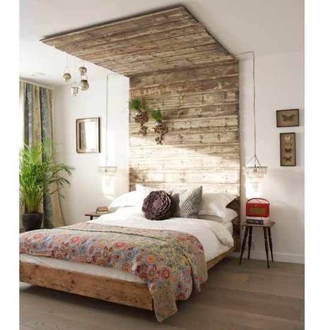 Design Inspiration: An Atypical Canopy Headboard | Apartment Therapy San Francisco | Home design & decor | Scoop.it