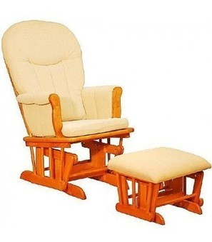 Athena Deluxe Glider Rocker and Ottoman with Beige Cushion   Online Store   Scoop.it