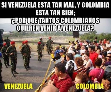 MÁS de 5 MILLONES de COLOMBIANOS/AS huyeron de su país para VIVIR en VENEZUELA | La R-Evolución de ARMAK | Scoop.it