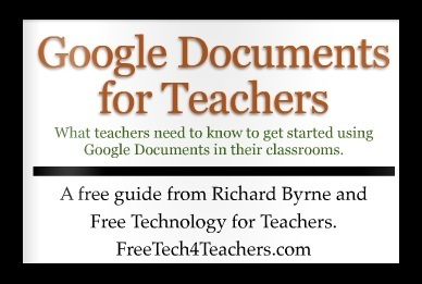 Free Technology for Teachers: Google Docs for Teachers - A Free ... | Grab and Go Technology Backpack | Scoop.it