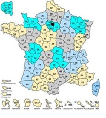 Télécharger Les départements français : apprendre les départements français simplement | TIC et TICE mais... en français | Scoop.it