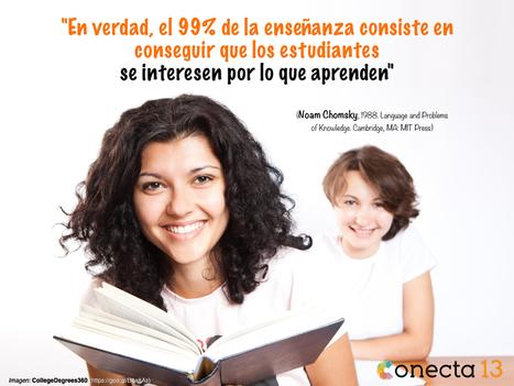 La misión del docente: despertar el interés por aprender | Conecta 13 | Educacion, ecologia y TIC | Scoop.it