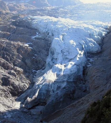 Glacier des Bossons, aujourd'hui. | The Blog's Revue by OlivierSC | Scoop.it