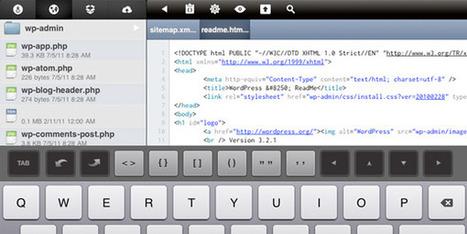 Le webdesign sur iPad - webdesign-ipad | À toute berzingue… | Scoop.it