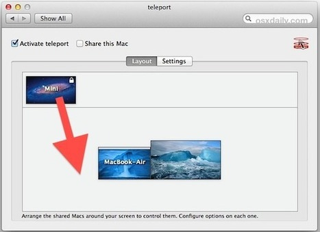 How to Use Teleport to Share a Keyboard, Mouse, & Clipboard Between Different Macs   All Things Mac   Scoop.it