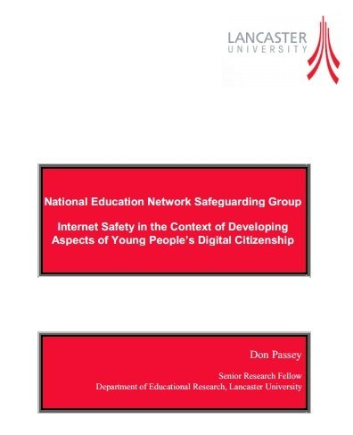 Internet Safety in the Context of Developing  Aspects of Young People's Digital Citizenship [PDF] | Internet safety for children | Scoop.it