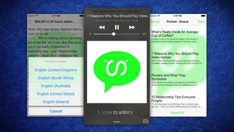 Speaky Reads Articles Out Loud to You - Lifehacker | Travel Articles & Business | Scoop.it