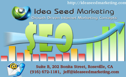 SEO Services Company in Roseville CA | Idea Seed Marketing | Idea Seed Marketing | Web Design and SEO Services | Scoop.it