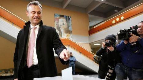 Autriche: l'extrême droite en tête au premier tour de la présidentielle | L'Europe en questions | Scoop.it