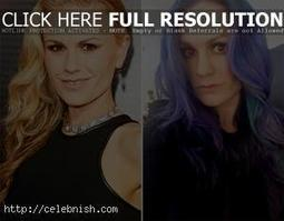 "Anna Paquin: The ""True Blood"" star now has blue hair 