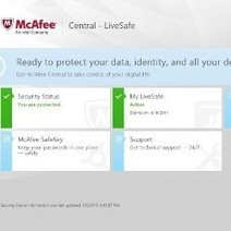 McAfee propose de la sauvegarde en ligne sécurisée par biométrie | Libertés Numériques | Scoop.it