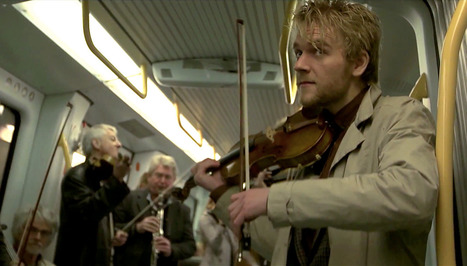 When Flash Mobs Go Right: A Symphony Surprises Copenhagen Subway Riders | Sustainable Futures | Scoop.it