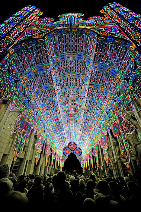 A Cathedral Made from 55000 LED Lights | Projects | Gear | Visual Inspiration | Scoop.it