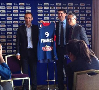 Joker : Nouveau sponsor maillot pour l'équipe de France de Basket | Sport Business & Marketing | Scoop.it