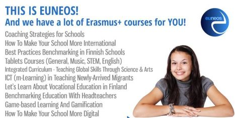 Erasmus+ #euneoscourses | Quick help to apply | Top trainers | Nice venues | Il Tablet nell'Educazione | Scoop.it