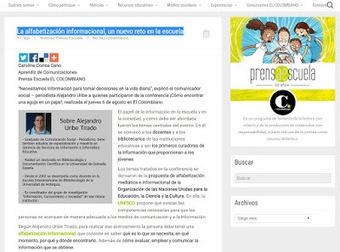 La alfabetización mediática e informacional, un nuevo reto en la escuela | ALFIN Iberoamérica | Scoop.it