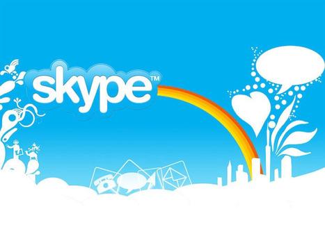 Skype et la visioconférence. Définition :   Skype, la messagerie, la visioconférence   Scoop.it