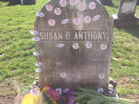 Why Women Bring Their 'I Voted' Stickers to Susan B. Anthony's Grave | Coffee Party Feminists | Scoop.it