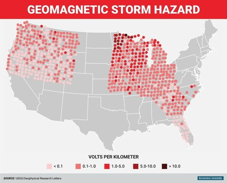 A 100-year solar storm could fry our power grids — these are the places most at risk | Vloasis sci-tech | Scoop.it