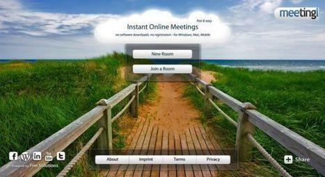 Meetingl – crea sesiones de videoconferencia en segundos | Pedalogica: educación y TIC | Scoop.it